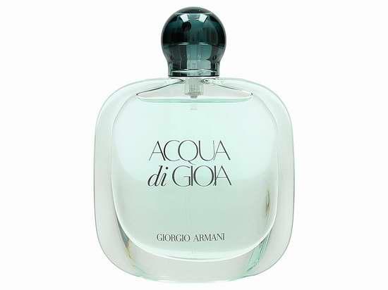 历史新低!Giorgio Armani 阿玛尼 Acqua Di Gioia 新寄情女士香水50ml 40加元限时特卖并包邮!