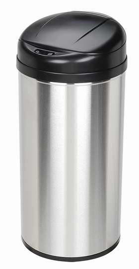 历史新低!Ninestars 13加仑红外感应式不锈钢垃圾桶2.7折 51.54加元限时特卖并包邮!