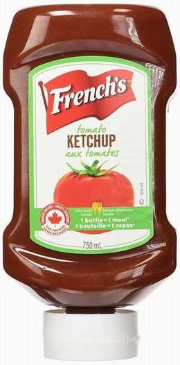 历史最低价!FRENCH'S Ketchup 法式番茄酱750ml 2.97加元限时特卖!