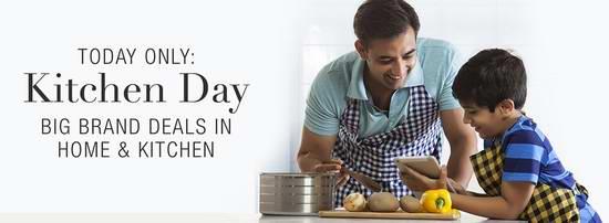 Amazon厨房日,精选300余款家用电器、厨房用品、居家用品等特价销售!