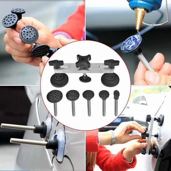 Super PDR 汽车车身凹痕DIY自助修复工具套装 19.39加元限量特卖!