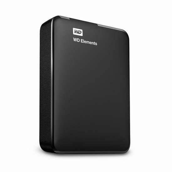 历史新低!WD 西部数码 My Elements 新元素系列 2.5英寸 2TB 超便携移动硬盘 89加元包邮!