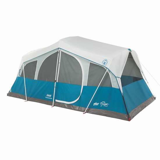 历史新低!Coleman Echo Lake 8人带储物户外帐篷4.1折 213.45加元包邮!