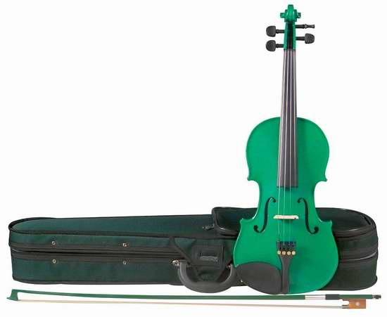 历史新低!Cremona SV-75 Premier Novice 1/2 Size 入门级小提琴2.8折 63.13加元限时清仓并包邮!