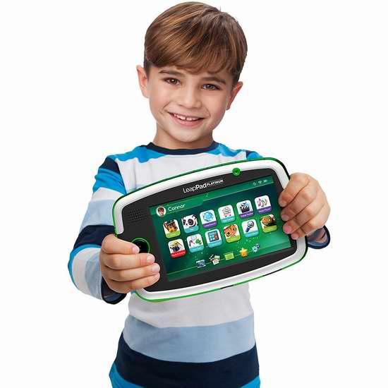 历史新低!Leapfrog 跳蛙 LeapPad Platinum 儿童早教学习平板电脑 99.99加元限时特卖并包邮!