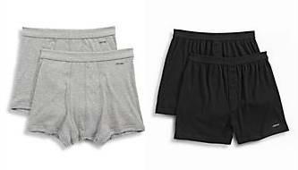 今日闪购:精选2款 Jockey 男式纯棉内裤2件套3.4折 10加元限时特卖!两色可选!