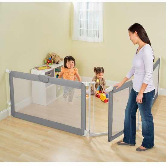 Summer Infant Custom Fit 可调式婴幼儿隔离围栏 99.99加元限时特卖并包邮!