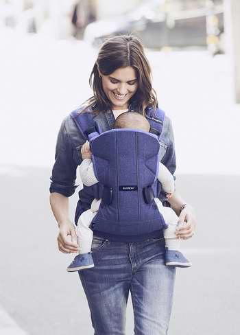 历史新低!BabyBjorn Baby Carrier One 牛仔蓝 超舒适婴儿背带 179.99加元限时特卖并包邮!