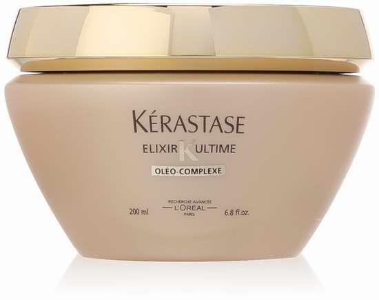 历史新低!Kerastase 巴黎卡诗 Elixir Ultime 极致全效修护精华系列 柔美护发膜200毫升5.8折 39.26加元限时特卖并包邮!