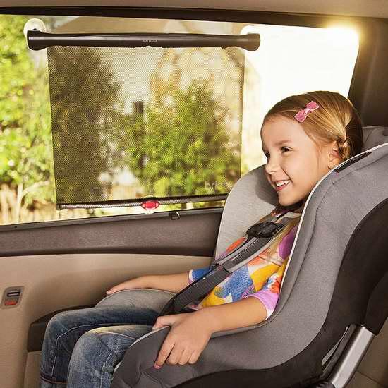 历史新低!BRICA White Hot Sun Safety 汽车遮光窗帘2件套 9.47加元限时特卖!