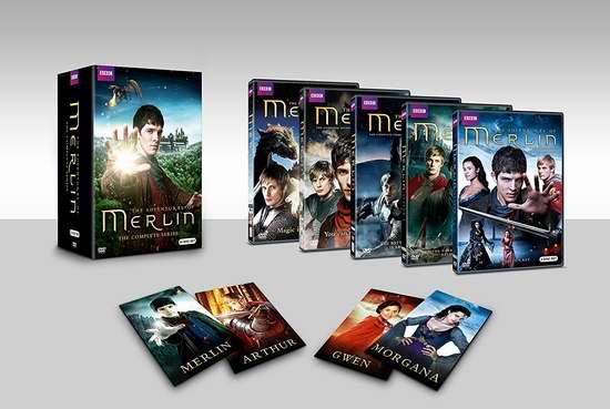 金盒头条:历史新低!大型魔幻电视剧《Merlin 梅林传奇》DVD全集 57.99加元限时特卖并包邮!