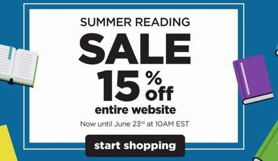 Book Outlet 72小时闪购:全场书籍特价销售,额外再打8.5折!折后低至1折!