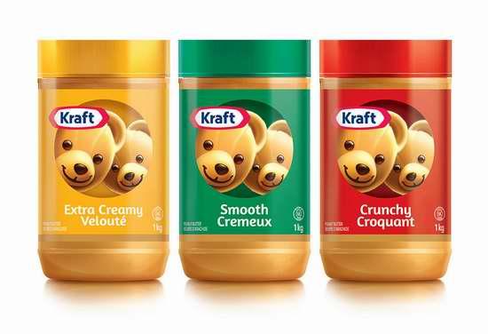 历史新低!精选9款 Kraft 卡夫 天然花生酱 3.97加元起限时特卖!
