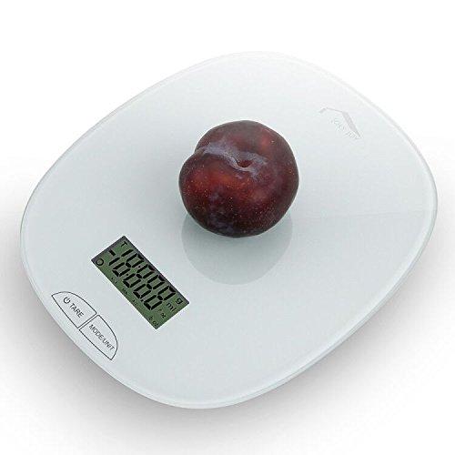 Joly Joy 11磅钢化玻璃电子式厨房秤 12.76加元限量特卖!