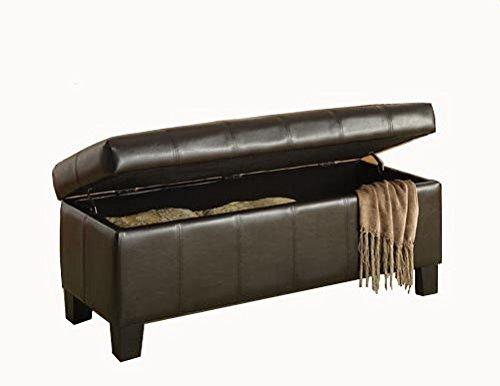 历史新低!Homelegance Lift Top 时尚储物脚踏收纳凳 147.41加元限时特卖并包邮!