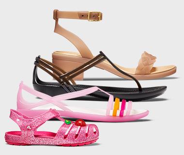Crocs 卡洛驰洞洞鞋 季末清仓大量新品上线!精选309款成人儿童鞋靴3.3折起,额外再打7折!