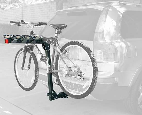MaxxHaul 70210 豪华车尾拖挂式自行车车架(可装4辆) 77.74加元限时特卖并包邮!