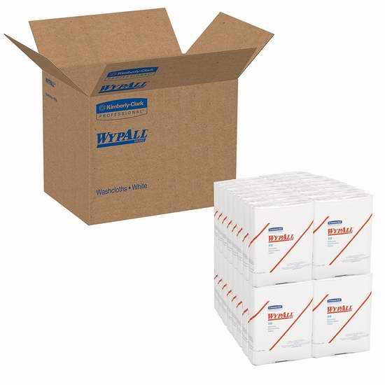 历史新低!Kimberly-Clark Wypall X50 一次性超强擦拭纸(26张x32包)2折 19.45加元限时特卖!