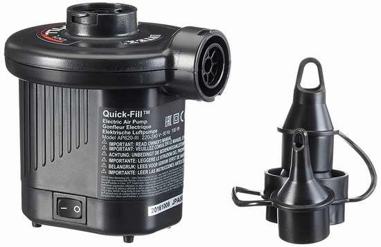 历史最低价!Intex Quick-Fill 12伏车载 充气床垫/充气船 专用电动充气泵5.4折 12.97加元限时特卖!