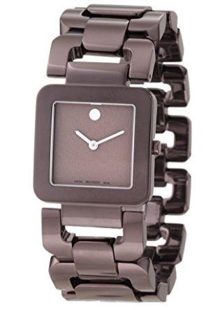 历史新低!Movado 摩凡陀 0606574 Luma 露玛系列 女士时尚腕表/手表3.8折 339.25加元限时特卖并包邮!