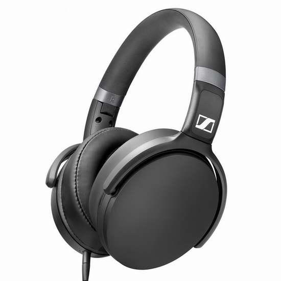 白菜价!历史新低!Sennheiser 森海塞尔 HD 4.30G/4.30i 线控带麦 封闭式耳机3.6折 55加元清仓并加元包邮!