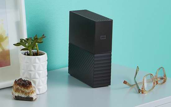 历史新低!Western Digital 西数 My Book 4TB 3.5英寸 USB 3.0 桌面移动硬盘 129.99加元包邮!