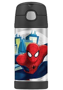 THERMOS膳魔师蜘蛛侠图案不锈钢保温杯 4加元(12盎司),原价 19.99加元