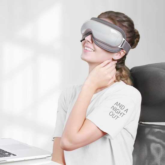 Naipo Breo 倍轻松 便携式 智能眼部按摩仪/护眼仪 67.99加元限量特卖并包邮!