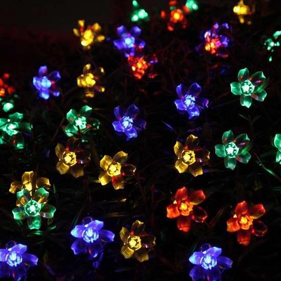 Ecandy 21英尺太阳能50 LED装饰灯 9.99加元限量特卖!5色可选!
