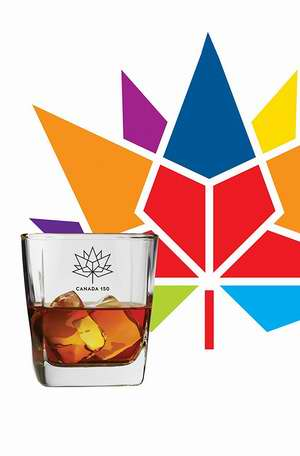 历史新低!Brilliant 加拿大150周年纪念 豪华威士忌水晶玻璃杯/酒杯2件套 9.99加元限时特卖!