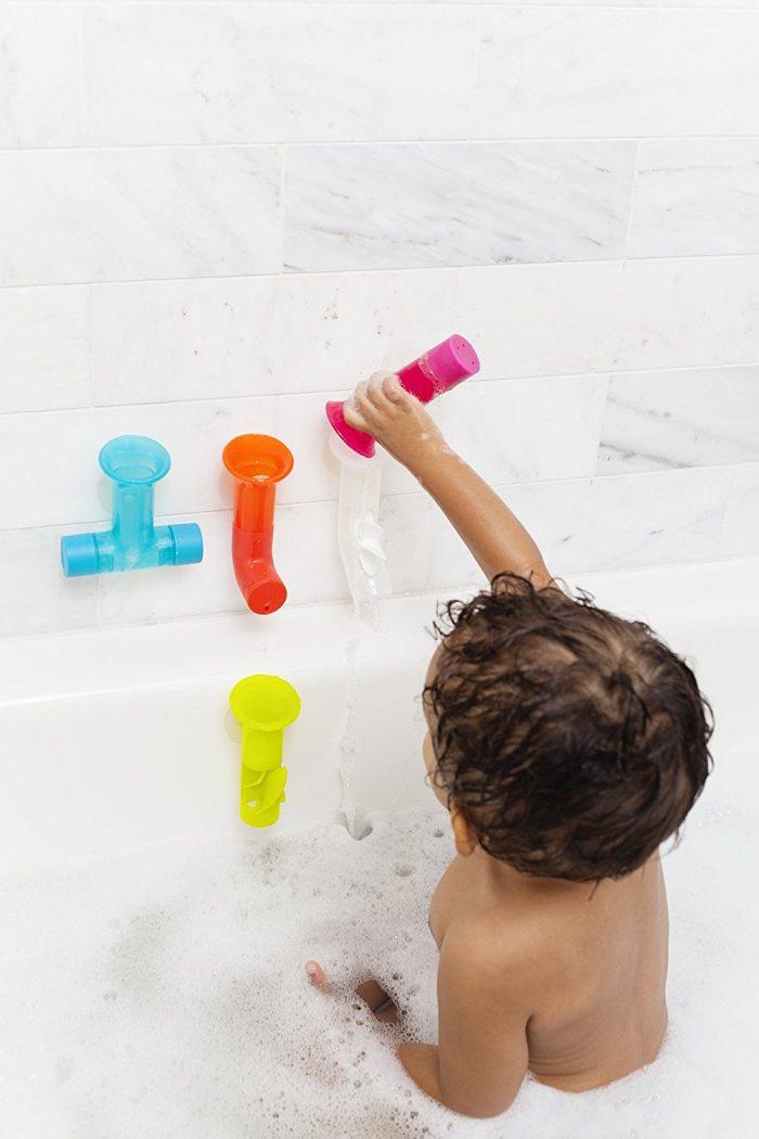 Boon 彩色水管洗澡玩具套装 12.98加元,原价 20加元