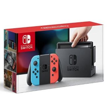 又上货了!Nintendo 任天堂 Switch 便携式游戏机 399.99加元限时销售并包邮!