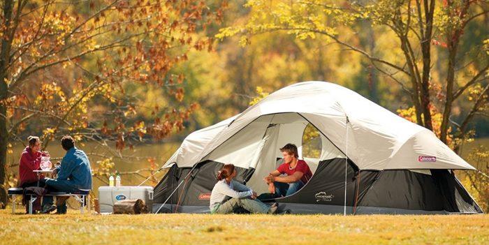 Coleman Red Canyon 超大8人家庭野营帐篷 129.6加元包邮!