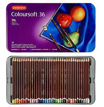 金盒头条:Derwent 得韵 0701028  36色水彩笔铁盒装 34.99加元特卖,原价 101加元!