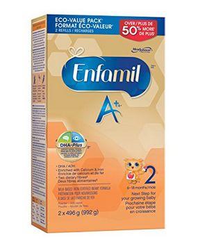 Enfamil A + 2宝宝配方奶粉 39.3加元,原价 45.99加元,包邮