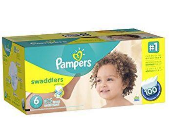 Pampers Swaddlers 纸尿裤 33.42加元(2-6号),原价 49.99加元,会员价为27.82加元