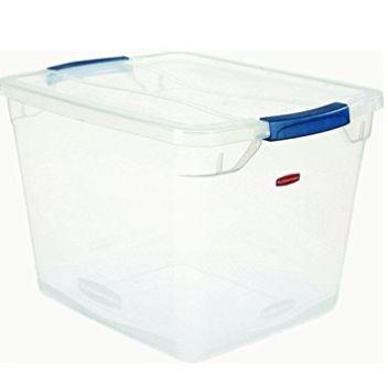 Rubbermaid 30夸脱透明塑料储存箱  10.97加元,原价 34.61加元