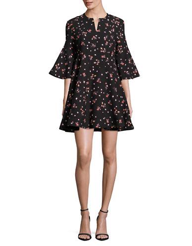 CARVEN 喇叭袖连衣裙 903.6加元,原价 1506加元,包邮