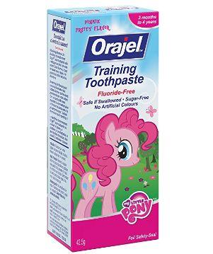 Orajel 小马宝莉 香甜水果味无氟儿童牙膏 3.58加元!
