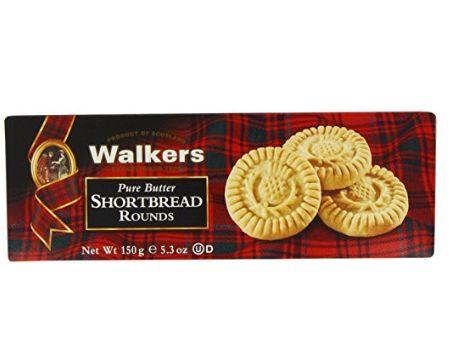 苏格兰土特产!Walkers 迷你黄油酥饼 2.84加元特卖!