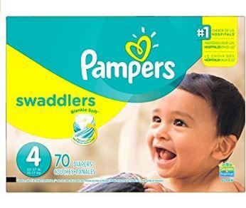 Pampers 帮宝适 Swaddlers 婴幼儿尿不湿/纸尿裤(4号) 16.97加元!