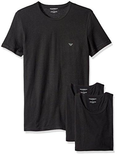 Emporio Armani阿玛尼T恤 3件套 47加元,原价 64.19加元,包邮