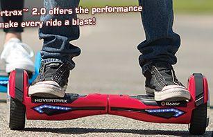 闪购!仅限网购!Razor Hovertrax 2.0 电动智能平衡滑板车 499.99加元,原价 649.99加元