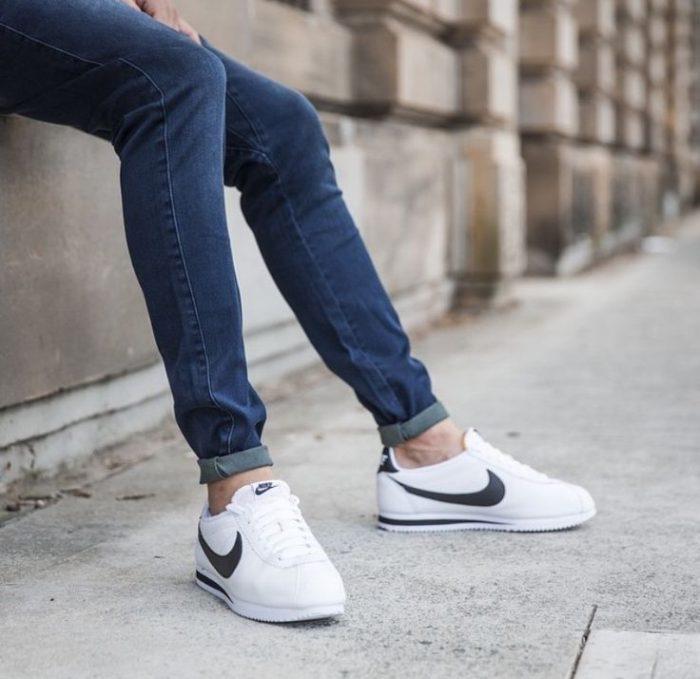 Nike 耐克 Classic Cortez 女款经典黑白阿甘鞋 59.49加元(2色),原价 95加元