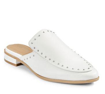 显腿长!CALVIN KLEIN Floral 女士穆勒鞋 48加元,原价 160加元