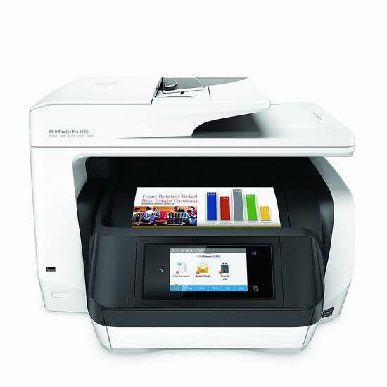 历史新低!HP 惠普 OfficeJet Pro 8720 多功能无线彩色喷墨打印机3.6折 119.99加元包邮!