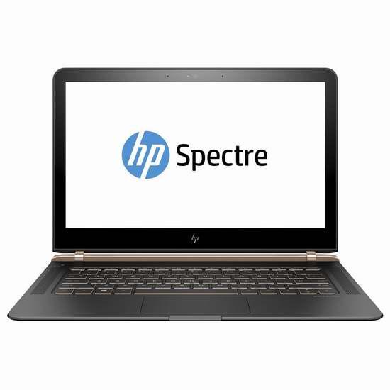历史新低!HP 惠普 12-v110ca Spectre 13.3英寸超轻薄笔记本电脑6.8折 1178.92加元包邮!