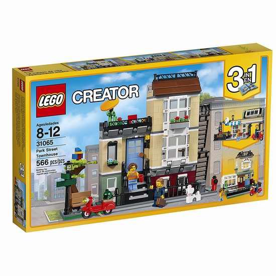 历史新低!LEGO 乐高 31065 创意系列 临街别墅(566pcs)6.5折 42加元包邮!