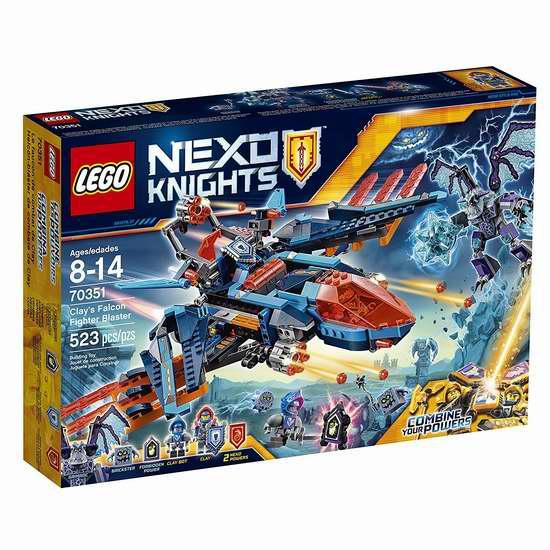 LEGO 乐高 70351 未来骑士团 克雷的神鹰连发战斗机(523pcs)6.1折 39.41加元包邮!