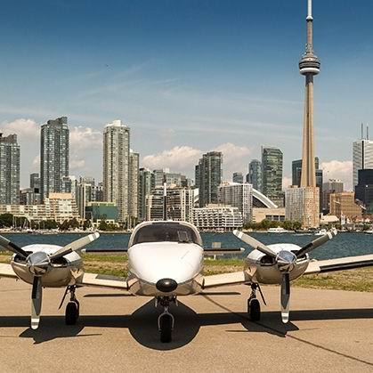 Fly GTA Airlines 多伦多市区/大瀑布 观光小飞机100公里双人游+香槟3.5折 124加元!仅限今日!